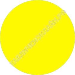 Изображение предупреждающего желтого круга на двери для для слабовидящих ГОСТ Р 52131-2003